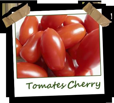 Tomates cherry ecológicos Vela Blanca